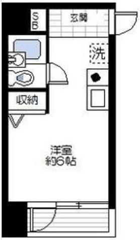 マリオン横浜ハーバーライト / 301 部屋画像1