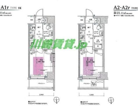 フェルクルールプレスト川崎アリビエ / 4階 部屋画像1