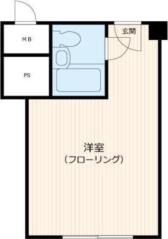 秀和赤坂レジデンシャルホテル / 8階 部屋画像1