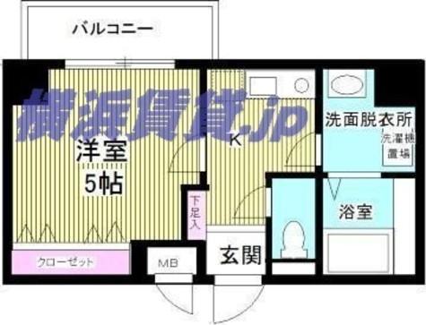 伏見町ハウス / 5階 部屋画像1