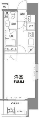 コンフォリア新宿御苑Ⅰ / 3階 部屋画像1