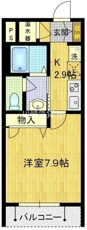 T's garden川崎大師Ⅰ棟(ティーズガーデン川崎大師) / 3階 部屋画像1