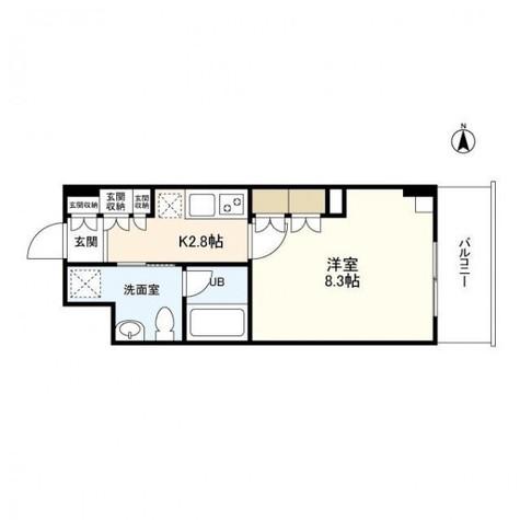 恵比寿三田レジデンス / 3階 部屋画像1
