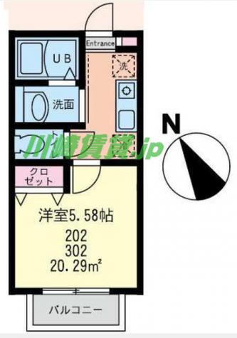 グランノーブル鶴見 / 3階 部屋画像1