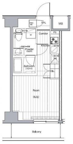 プレミアムキューブG西大井 / 4階 部屋画像1