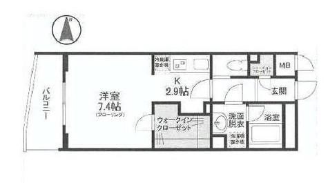 ディアレンス横濱沢渡 / 6階 部屋画像1