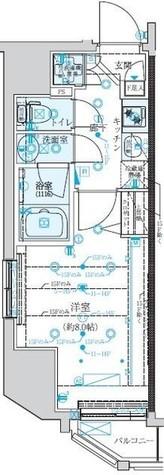 クレイシア新宿 / 9階 部屋画像1