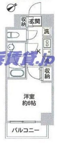 DUO FLATS横濱平沼橋(デュオフラッツ) / 3階 部屋画像1