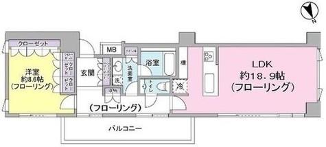 シェルトーレ三番町 / 12階 部屋画像1