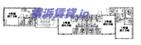 リアルフィールド阪東橋 / 302 部屋画像1