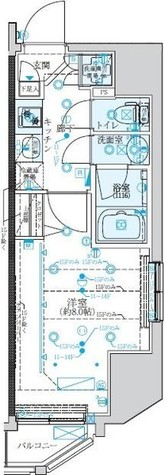 クレイシア新宿 / 8階 部屋画像1