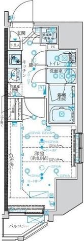 クレイシア新宿 / 11階 部屋画像1