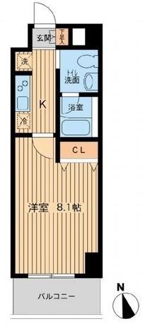 F.H.D.ビル / 4階 部屋画像1
