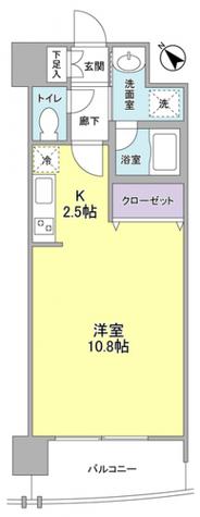 フラットパル山王 / 5階 部屋画像1
