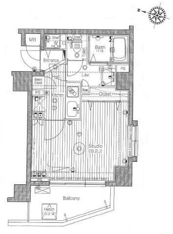 ガラ・グランディ西新宿 / 10階 部屋画像1