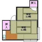 増田荘 / 2階 部屋画像1