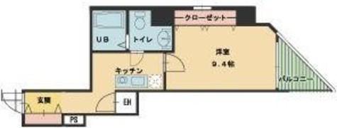 ヴィレ新宿御苑 / 1階 部屋画像1