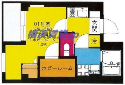 b'CASA Yokohama Higashi / 5階 部屋画像1