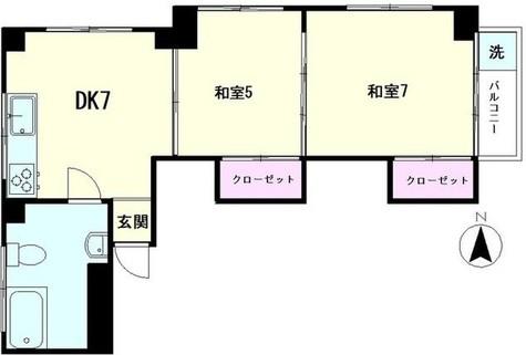 アパルトマン四谷 / 6階 部屋画像1