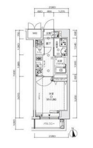 ラ・シード馬込レフィナード / 3階 部屋画像1