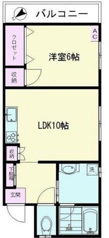 サンハイム五反田 / 6階 部屋画像1