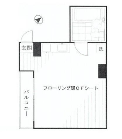 ジュエル青山 / 9階 部屋画像1