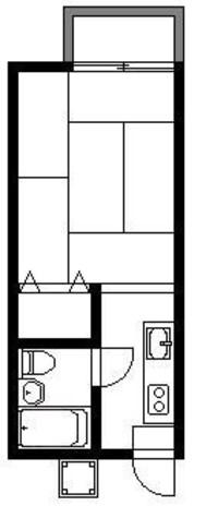 シャンブルシオンA / 1階 部屋画像1