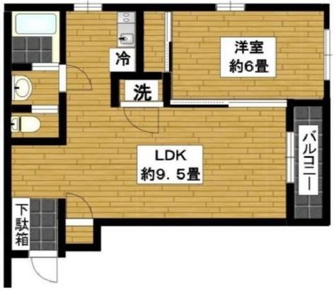 マインズ武蔵小山Ⅱ / 3階 部屋画像1