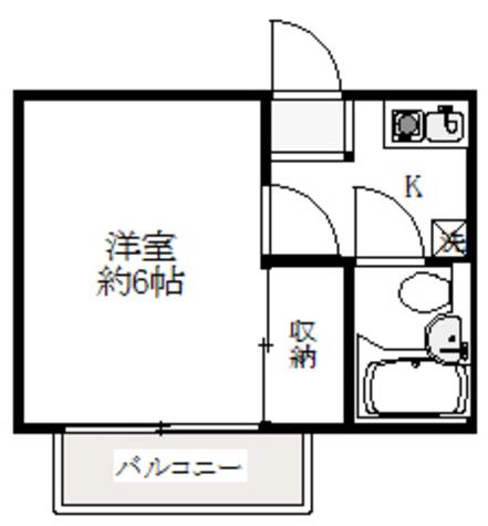 ハーモニー / 1階 部屋画像1
