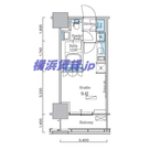 パークアクシス横濱関内スクエア / 1412 部屋画像1