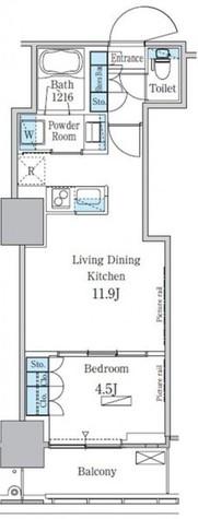 パークアクシス横濱関内スクエア / 4階 部屋画像1