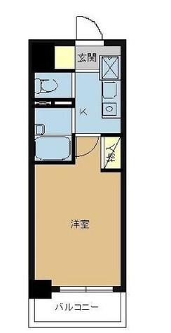 スカイコート神楽坂第2 / 5階 部屋画像1