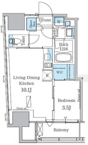 パークアクシス横濱関内スクエア / 12階 部屋画像1