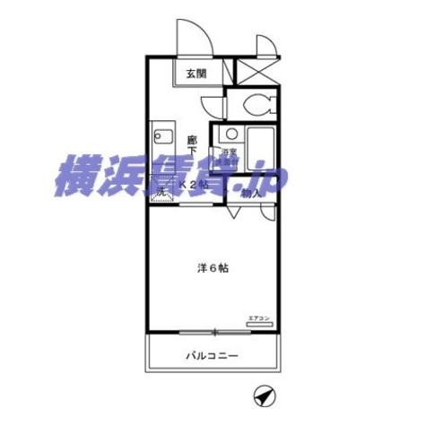 EXCELCOURT124-B / 203 部屋画像1