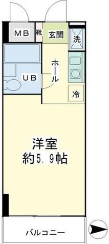 エクセル横浜 / 5階 部屋画像1