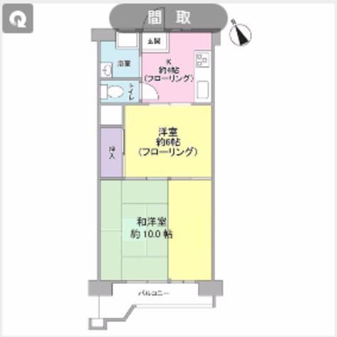 サンハイム戸塚 / 3階 部屋画像1