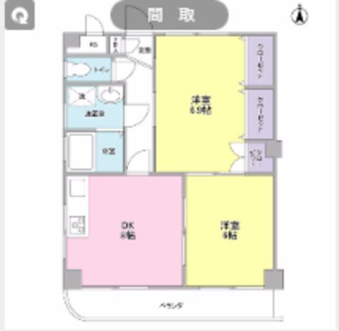 シーダーパーク / 4階 部屋画像1