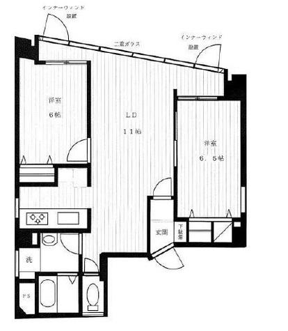 フローラル戸越銀座 / 3階 部屋画像1