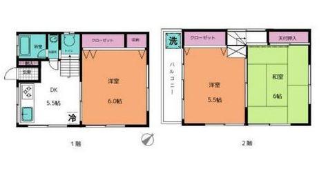 広瀬貸家 / 1階 部屋画像1