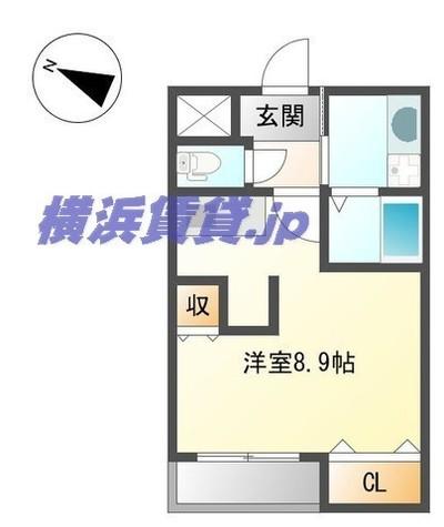 ルミナスローズ湘南台 / 1階 部屋画像1