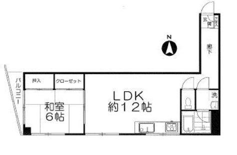 エミール小川 / 3階 部屋画像1
