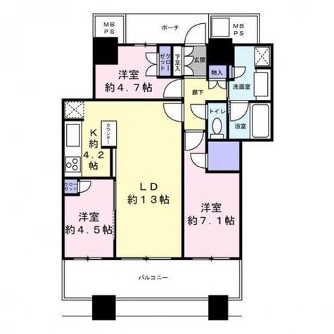 パークタワー横浜ステーションプレミア / 17階 部屋画像1
