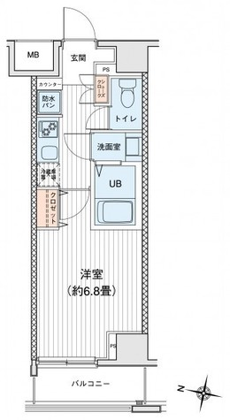 プリモレガーロ町田 / 11階 部屋画像1