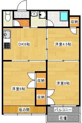 貝塚ビル / 602 部屋画像1