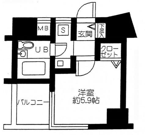 アクシルコート大井仙台坂 / 3階 部屋画像1