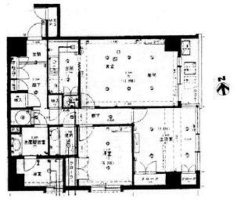 トーア三田ガーデン / 8階 部屋画像1
