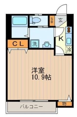 ブライト・アビタシオン / 2階 部屋画像1