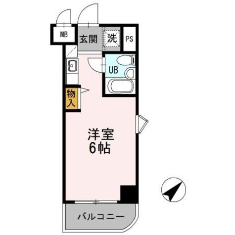 アーバンフォレスト上永谷 / 2階 部屋画像1