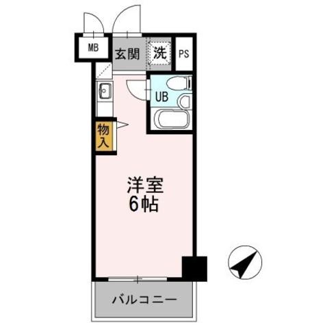 アーバンフォレスト上永谷 / 4階 部屋画像1