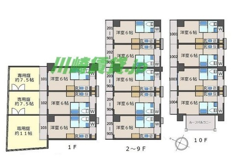 クレヴァンス川崎鹿島田 / 7階 部屋画像1